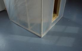 CUBE 2017 1,5m x 1,5m, wood, plastic, foam plastic