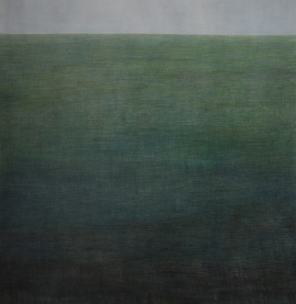 The sea 110cm x 120cm, charcoal and pencil on paper