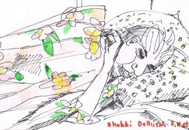 Delhi 7.4.2003 The shock
