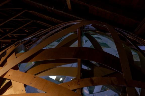 s i s ä i n space installation 2018 photo: Jose Jompero